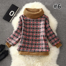 Load image into Gallery viewer, 7 Colors Grids Winter Pullover Fleece Jumper SP164708 - SpreePicky  - 8