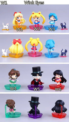 Sailor Moon Senshi Chibi Figures SP154651 - SpreePicky  - 3