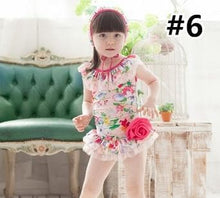 Load image into Gallery viewer, Cutie Floral One-piece Kids Swimsuit SP165549