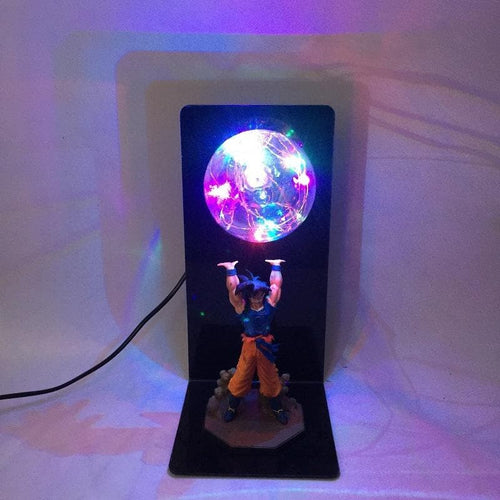 6 Colors Kawaii Dragon Ball Son Goku Table Lamp SP13323