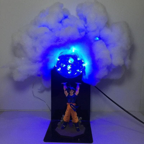 6 Colors Kawaii Dragon Ball Son Goku Table Lamp SP13325