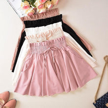 Load image into Gallery viewer, 6 Colors Pastel High Waisted Skirt SP13810