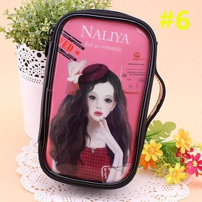 24 Patterns Cutie Girl Cartoon Cosmetic Storage Bag SP153063 - SpreePicky  - 9