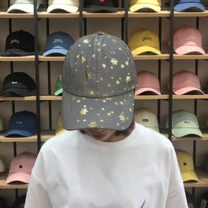 Fashion Reflective Hiphop Cap SS0425