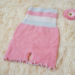 Pastel Fleece High Waist Warming Shorts SP164918 - SpreePicky  - 8