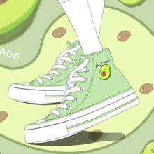 Load image into Gallery viewer, Jfashion Avocado Canvas Shoes SP14877