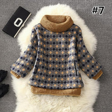 Load image into Gallery viewer, 7 Colors Grids Winter Pullover Fleece Jumper SP164708 - SpreePicky  - 9