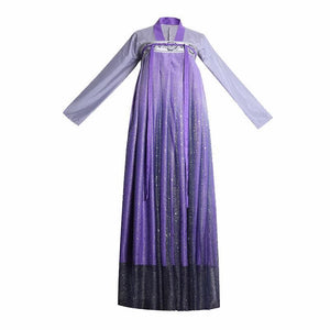 Elegant Purple Starry Sky Chinese Style Hanfu SP15179