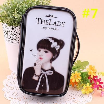 24 Patterns Cutie Girl Cartoon Cosmetic Storage Bag SP153063 - SpreePicky  - 10