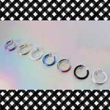 7 Colors Fake Lip Ring S12753