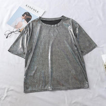 Load image into Gallery viewer, 7 Colors Holo Shining Tee Shirt SP13703