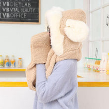 Load image into Gallery viewer, 7 Colors Kawaii Bunny/Bear Ears Scarf Hat SP1710929