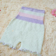 Load image into Gallery viewer, Pastel Fleece High Waist Warming Shorts SP164918 - SpreePicky  - 9