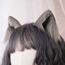 Load image into Gallery viewer, 5 Colors Kawaii Plush Cat Ears Hair Clip SP14572