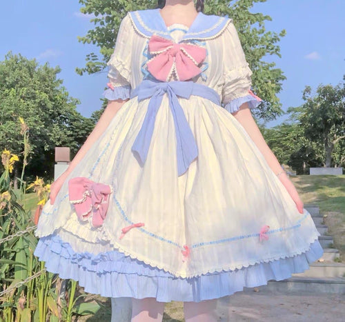 Sweet Bowknot Lolita Dress SP15828