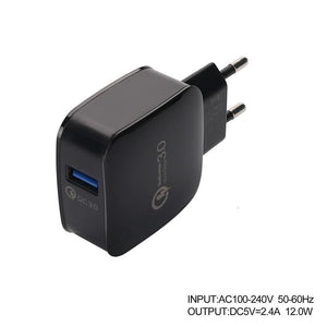 QC3.0 Fast Charger Plug 9V/12V for Smart Phone SP13282