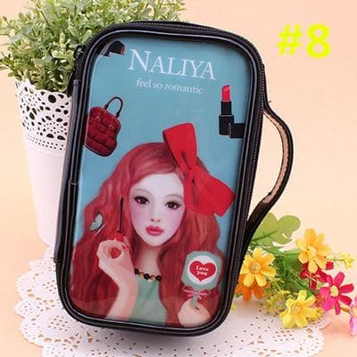 24 Patterns Cutie Girl Cartoon Cosmetic Storage Bag SP153063 - SpreePicky  - 11