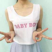 Load image into Gallery viewer, Customized Baby Girl Crop Top SP1710639