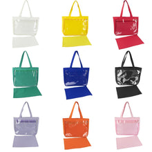 Load image into Gallery viewer, 9 Colors Lovely Transparent Canvas Handbag/Shoulder Bag SP14303