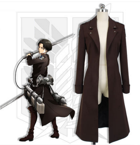 Attack on Titan Levi Ackerman Coat SP1710577