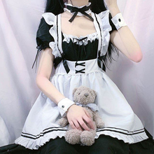 Load image into Gallery viewer, Cosplay Black Maid Dress Nikki UP2U World Traveller Free Ship SP141227