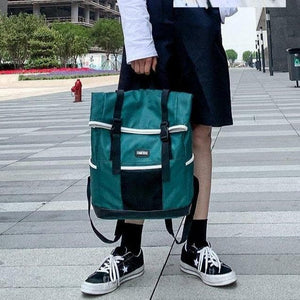 Japanese Style Fashion Schoolbag Personality Backpack For Men SP15051