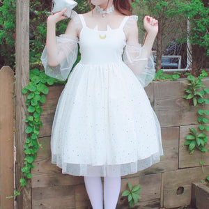 Black/White Sailor Moon Star Lolita Dress SP1710597