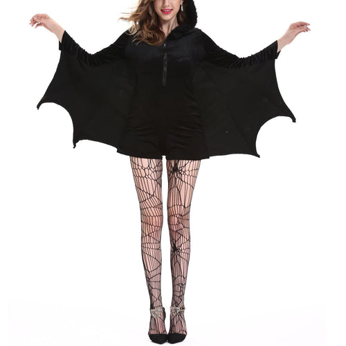 Black Bat Cosplay Hoodie Poncho SP14131