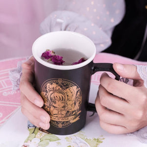 Black Cardcaptor Sakura Ceramic Cup SP13542