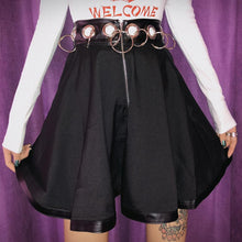 Load image into Gallery viewer, Black Hip Hop Ring Skirt SP13489