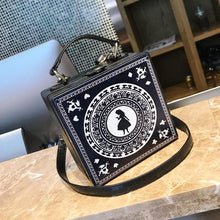 Load image into Gallery viewer, Black Kawaii Alice Lolite Cross Body Bag S12977