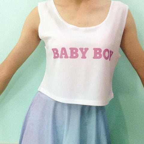 Customized Baby Girl Crop Top SP1710639