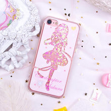 Load image into Gallery viewer, Card Captor Sakura Paillette Liquid Phone Case S12761