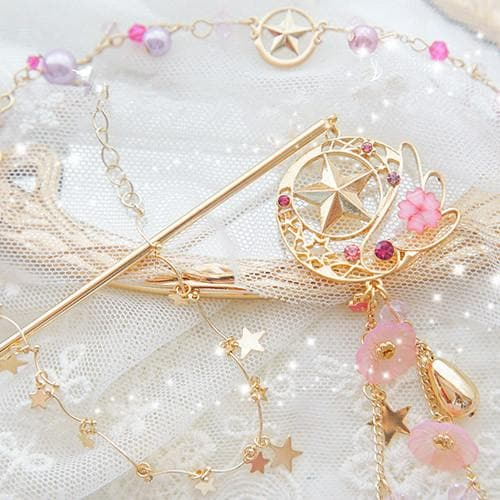 Cardcaptor Sakura Flying Star Hairpin/Bracelet SP1711577