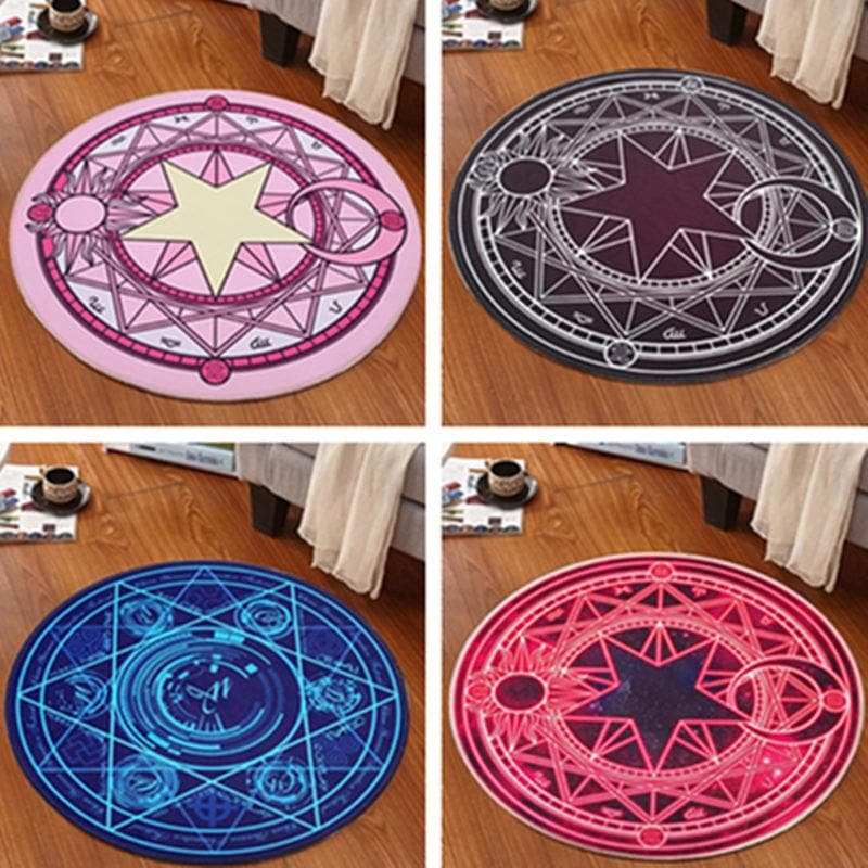 Cardcaptor Sakura Magic Kawaii Rug Round Carpet SP1711114 Page2