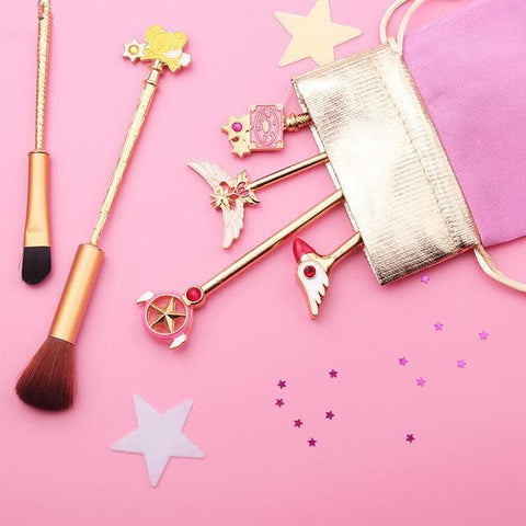 Cardcaptor Sakura Magic Wand Make-Up Brush Set SP1711375