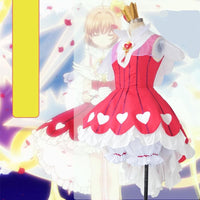 Cardcaptor Sakura Sweet Heart of Rose Cosplay Costume S13054