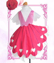 Load image into Gallery viewer, Cardcaptor Sakura Sweet Heart of Rose Cosplay Costume S13054
