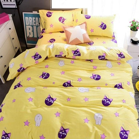 Chibi Usa Luna P Bedding 4 Pieces Set SP166332