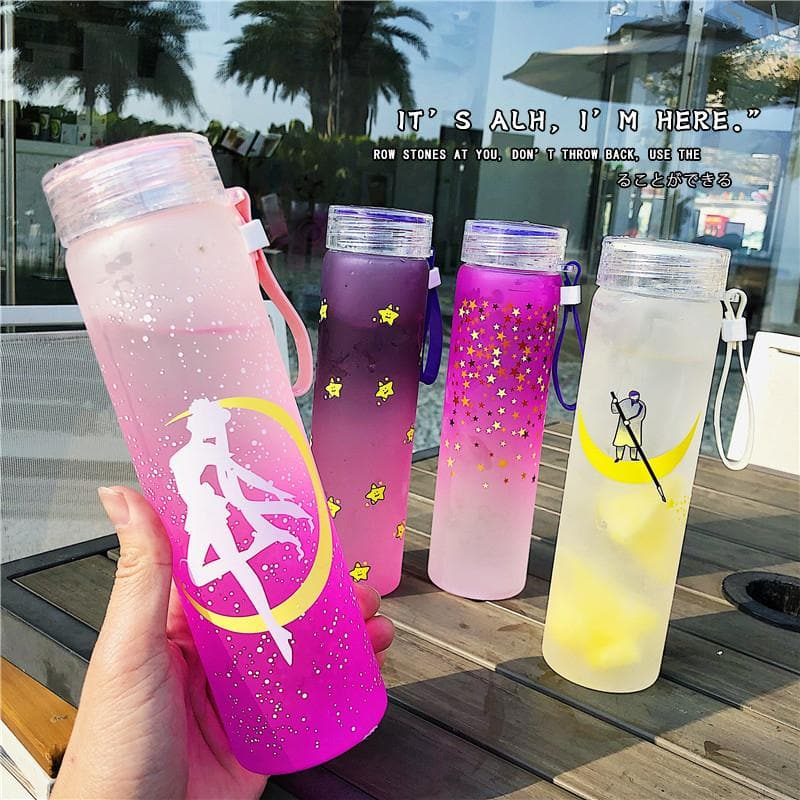 Colorful Kawaii Sailor Moon Star Water Bottle SP13654