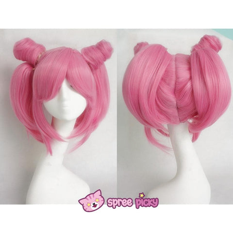 Cosplay Sailor Moon Chibi Moon Chibi Usa Hot Pink Wig With Pony Tails SP141460 - SpreePicky  sc 1 st  SpreePicky & Cosplay Sailor Moon Chibi Moon Chibi Usa Hot Pink Wig With Pony ...