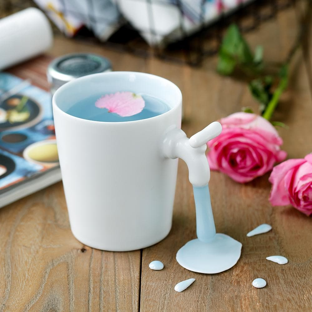 Creative Ceramic Spilled Milk Mug SP1710687