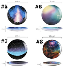 Load image into Gallery viewer, Creative Galaxy Ceramic Plate Dish SP13787