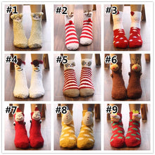 Load image into Gallery viewer, Cute Cartoon Coral Velvet Socks SP1710917