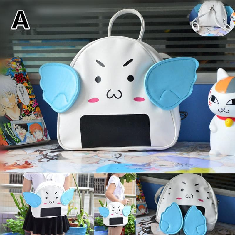 Cute Flying Onigiri Backpack SP1711245