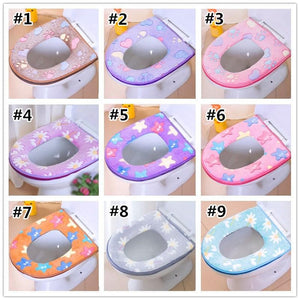 Cute Soft Plush Toilet Seat Cover SP1711273