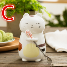 Load image into Gallery viewer, Cute Kawaii Cat Ceramic Cup SP1710674