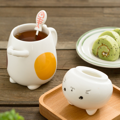 Cute Kawaii Cat Ceramic Cup SP1710674