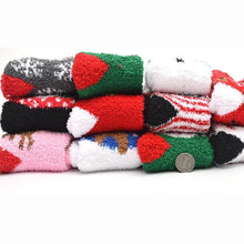 Load image into Gallery viewer, Cutie Christmas Xmas Fleece Socks SP13280
