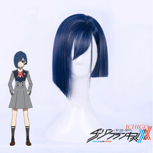 Load image into Gallery viewer, DARLING in the FRANXX CODE 015 ICHIGO Blue Short Wig SP1812225